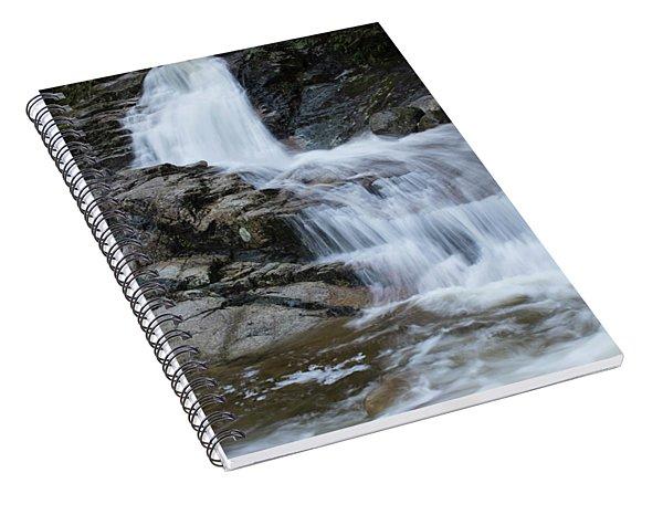 Crystal Falls Spiral Notebook