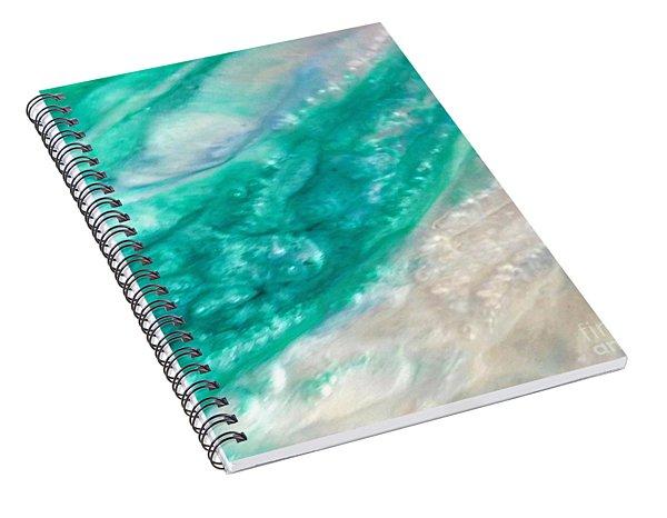 Crystal Wave11 Spiral Notebook