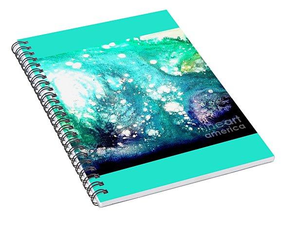 Crystal Wave7 Spiral Notebook