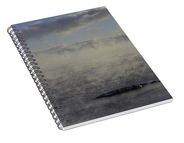 Curtis Island Light Spiral Notebook