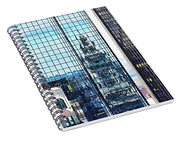 Custom House Reflection Spiral Notebook