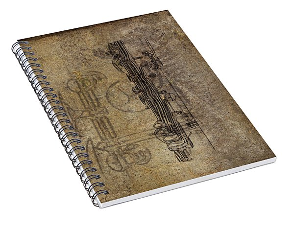 Dads Clarinet Spiral Notebook