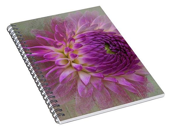 Dahlia Dream Spiral Notebook