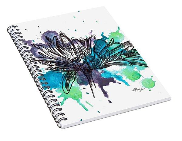 Daisy Splashes Spiral Notebook