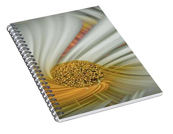 Daisy Swirl Spiral Notebook