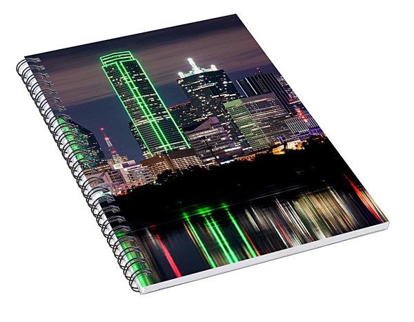 Dallas Cowboys Star Skyline Spiral Notebook