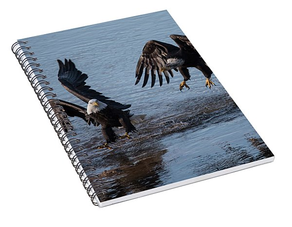 Dancing Eagles Spiral Notebook