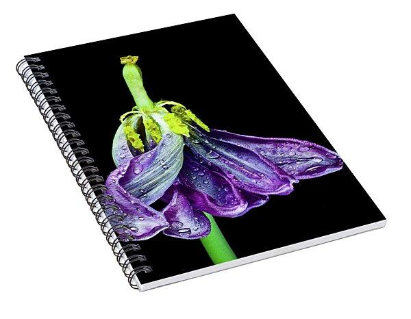 Dancing Tulip 2 Spiral Notebook