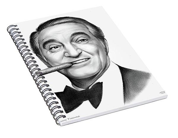 Danny Thomas Spiral Notebook