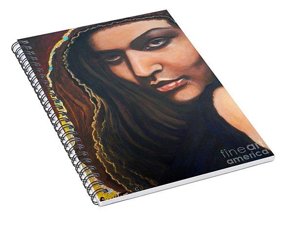 Dark Soulful Latin Eyes          From The Attitude Girls Spiral Notebook