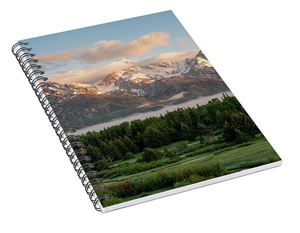 Dawn At Grand Teton National Park Spiral Notebook
