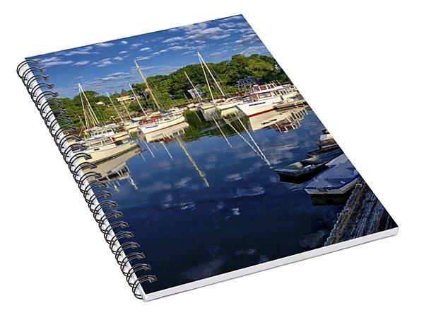 Dawn At Perkins Cove - Maine Spiral Notebook