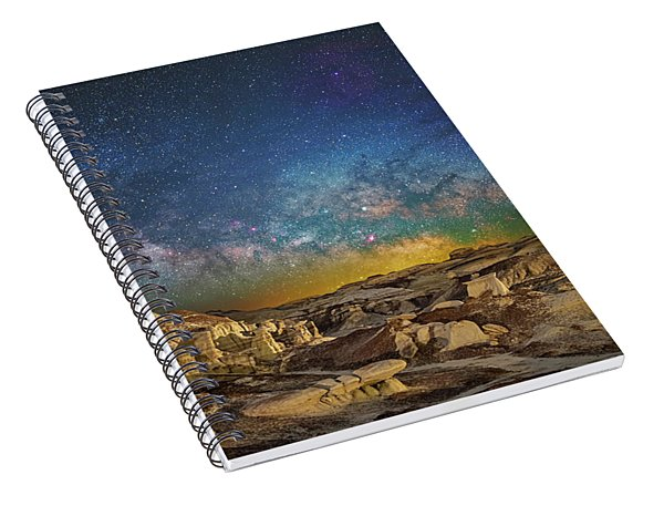 Dawn Of The Universe Spiral Notebook