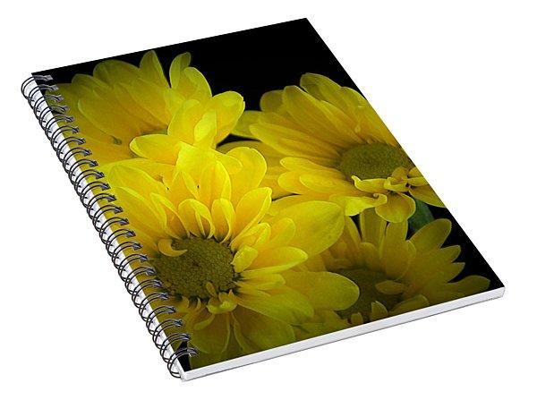 Dazzling Yellow Spiral Notebook