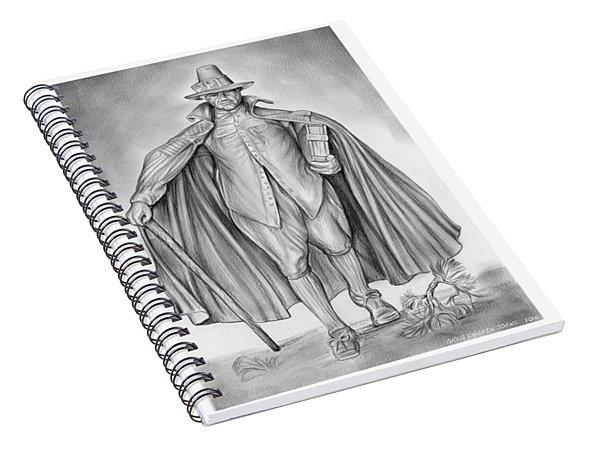Deacon Samuel Chapin Spiral Notebook