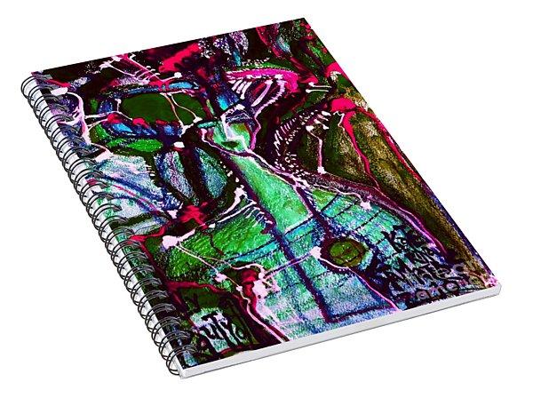 Deadly Beauty-3 Spiral Notebook