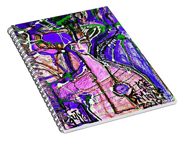 Deadly Beauty-7 Spiral Notebook