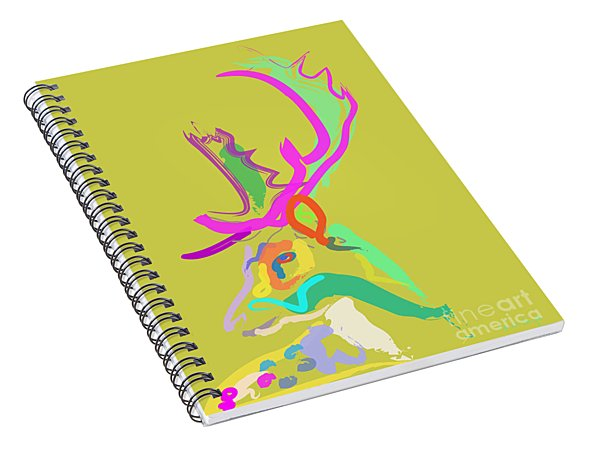Dear Deer Spiral Notebook