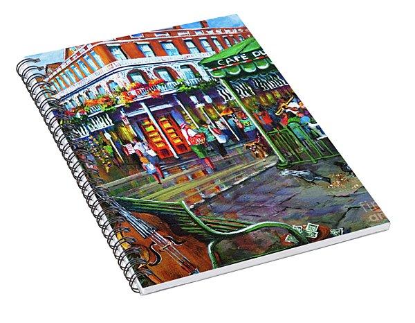Decatur Street Spiral Notebook