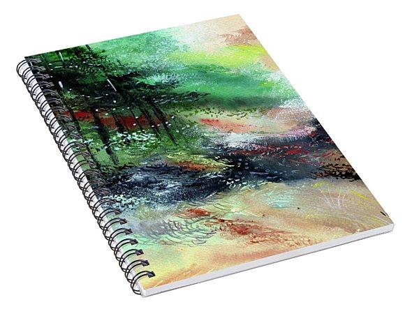 Deep Into The Jungle Spiral Notebook
