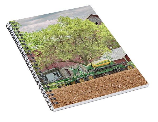 Deere On The Farm Spiral Notebook