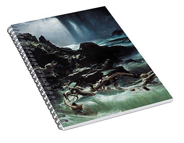 Deluge Spiral Notebook
