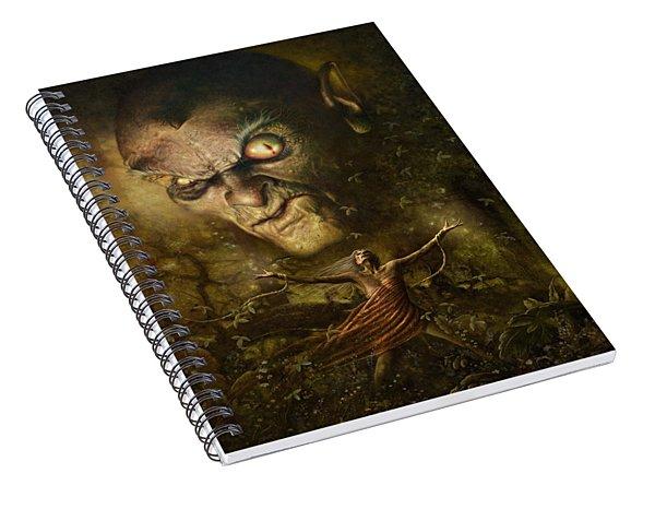 Demonic Evocation Spiral Notebook