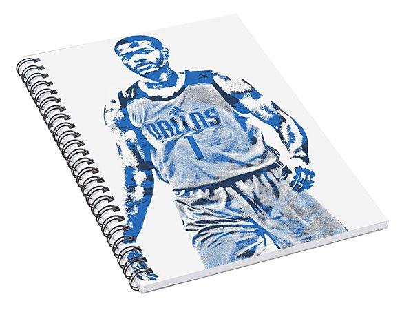 c2dfecbb915 Dennis Smith Jr Dallas Mavericks Pixel Art 3 Spiral Notebook
