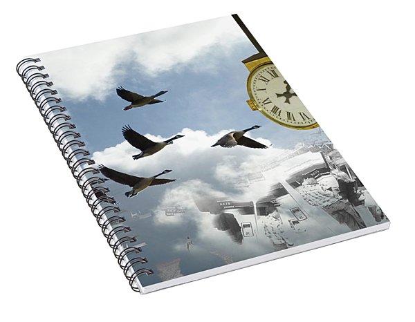 Departures Spiral Notebook
