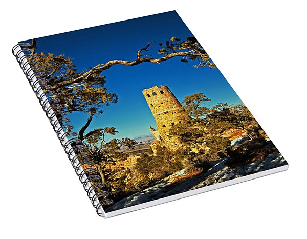 Desert View Watchtower, Grand Canyon National Park, Arizona Spiral Notebook