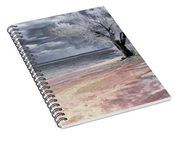 Deserted Beach Spiral Notebook