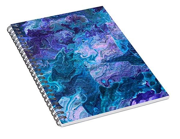 Detail Of Waves 7 Spiral Notebook