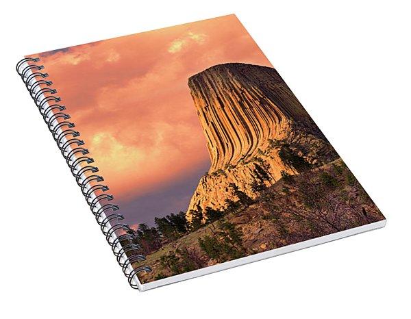 Devil's Tower Spiral Notebook
