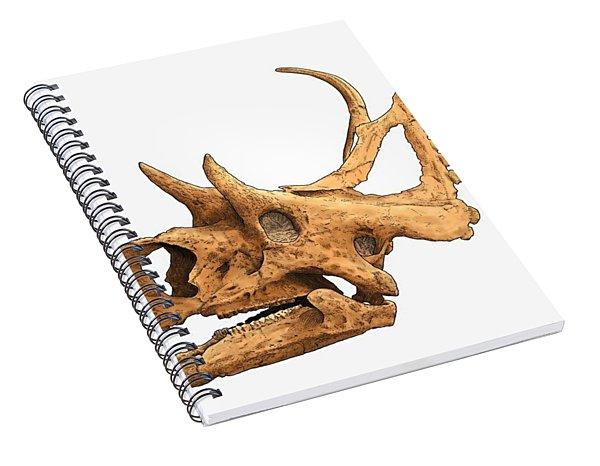 Diabloceratops Spiral Notebook