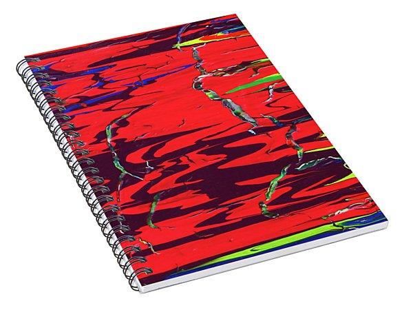 Dichotomy Spiral Notebook