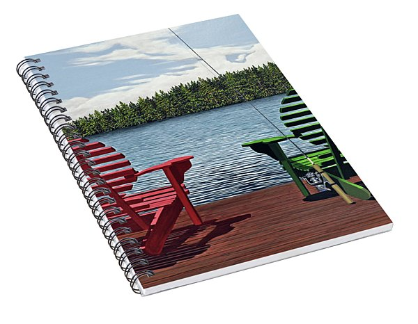 Dockside Spiral Notebook