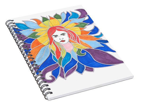 Donna Soul Portrait Spiral Notebook