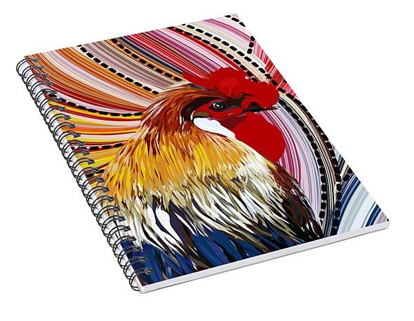 Doodle Doo Spiral Notebook