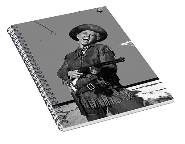 Doris Day Publicity Photo Calamity Jane 1953-2015 Spiral Notebook