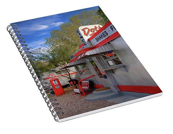 Dot's Diner In Bisbee Spiral Notebook