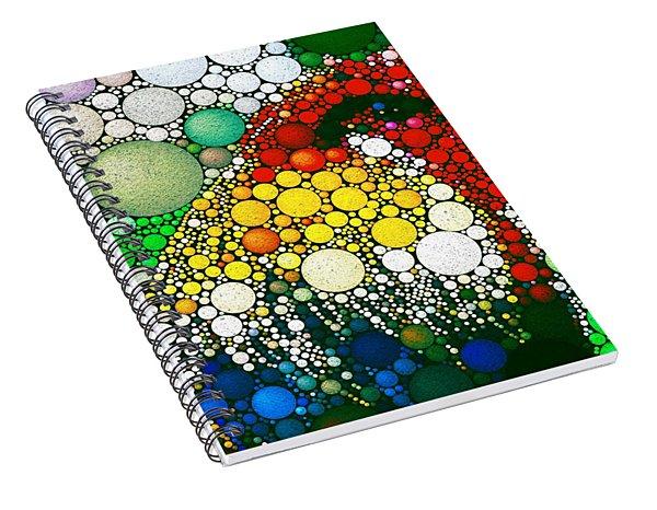 Dotty Doodle Doo Spiral Notebook