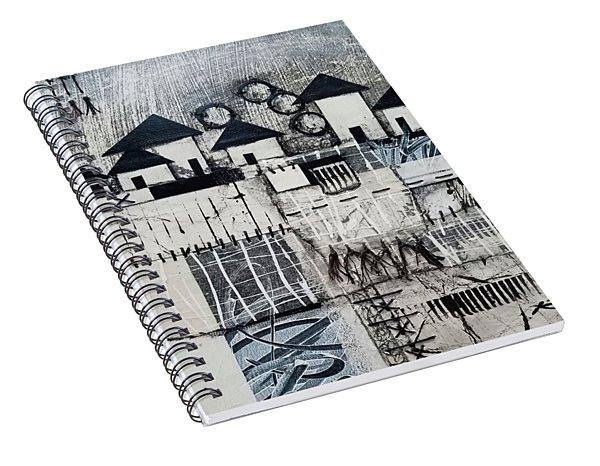 Down The Block  Spiral Notebook