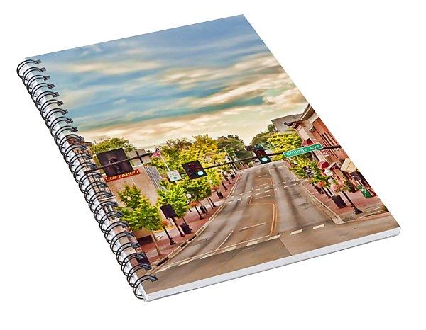 Downtown Blacksburg Spiral Notebook