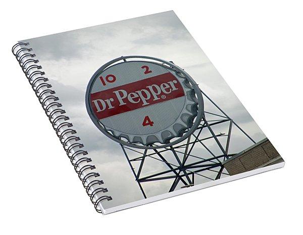 Dr. Pepper Sign - Roanoke Virginia Spiral Notebook
