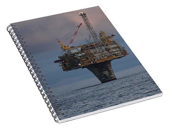 Draugen Platform Spiral Notebook