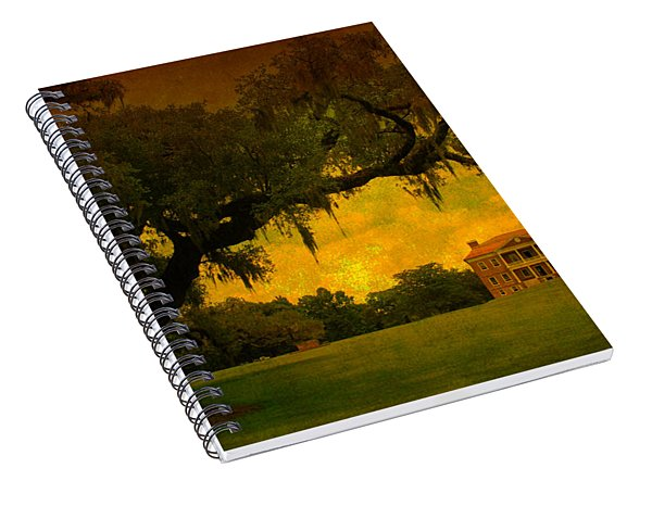 Drayton Hall Plantation In Charleston Spiral Notebook