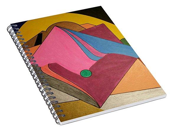 Dream 327 Spiral Notebook