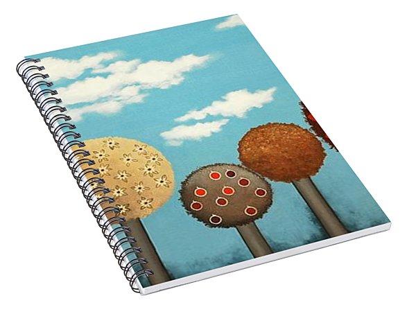 Dream Grove Spiral Notebook