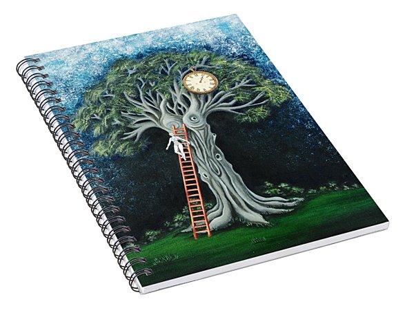 Dream Of The Clock Spiral Notebook