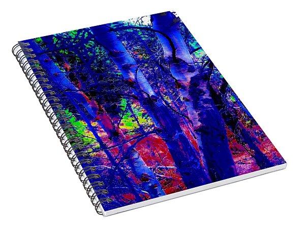 Dreaming Aspens Spiral Notebook